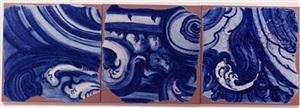 azulejao (triptico 3) [triptych 3] by adriana varejão
